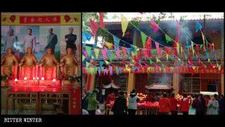 El presidente Mao reemplaza a Buda en los templos (Video)
