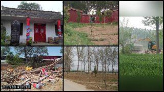 Los templos pertenecientes a la religión popular continúan siendo demolidos a lo largo de todo el país