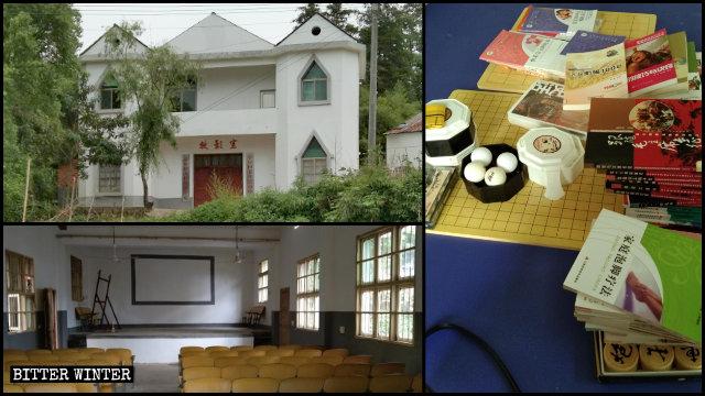 La iglesia ahora es un centro de actividades para ancianos.