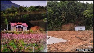 Numerosas salas ancestrales chinas fueron demolidas o convertidas en centros de propaganda