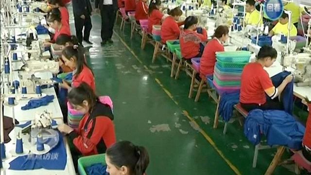 Las fábricas de Sinkiang incluso emplean a menores.