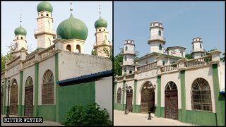 """Numerosas mezquitas fueron """"sinizadas"""" en medio de la pandemia"""