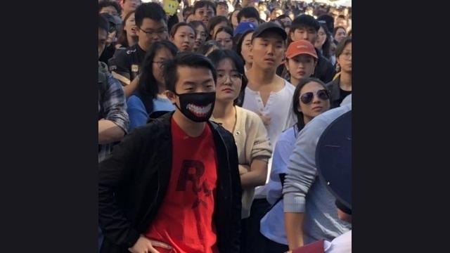 Agentes chinos listos para actuar.