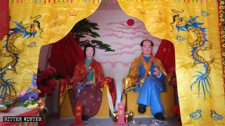 Las actividades religiosas han sido reemplazadas por la veneración a Mao Zedong