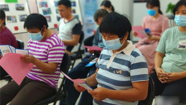Los residentes de las aldeas de la ciudad de Enping tuvieron que asistir a numerosos eventos anti xie jiao en el mes de junio.