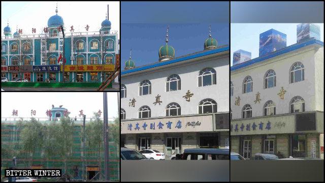 """Numerosas mezquitas emplazadas en la provincia de Jilin han sido """"sinizadas""""."""