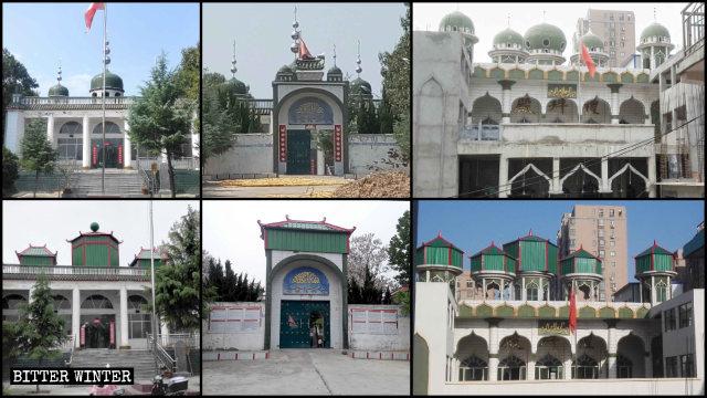 Se demolieron las cúpulas y los símbolos de luna creciente existentes en dos mezquitas emplazadas en la ciudad de Yuzhou de Henán.