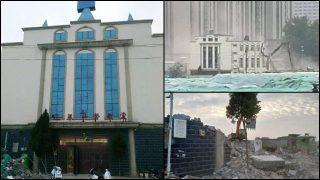 Numerosas iglesias protestantes estatales fueron demolidas en el mes de junio (Video)