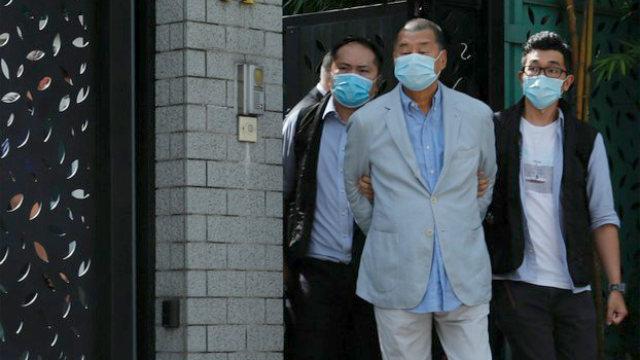 arresto de Jimmy Lai