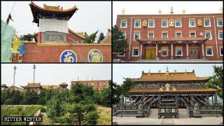 Un milenario templo budista tibetano fue destruido en Shanxi