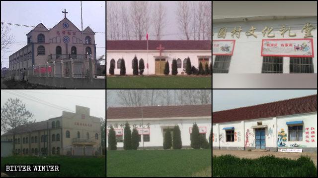 Numerosas iglesias han sido reconvertidas por el Estado.