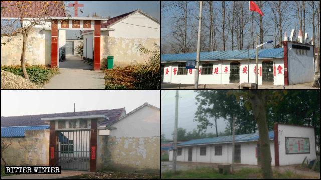 Numerosos lugares pertenecientes a iglesias han sido clausurados a lo largo de toda la provincia de Jiangsu.