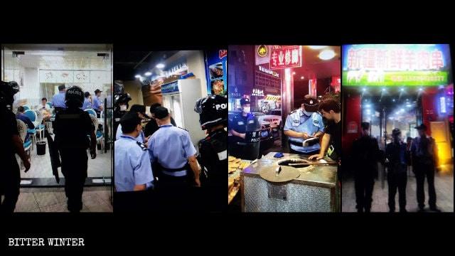 En Xiamen, los negocios administrados por uigures son frecuentemente investigados.